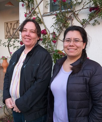 Irmãs Voneide e Debora